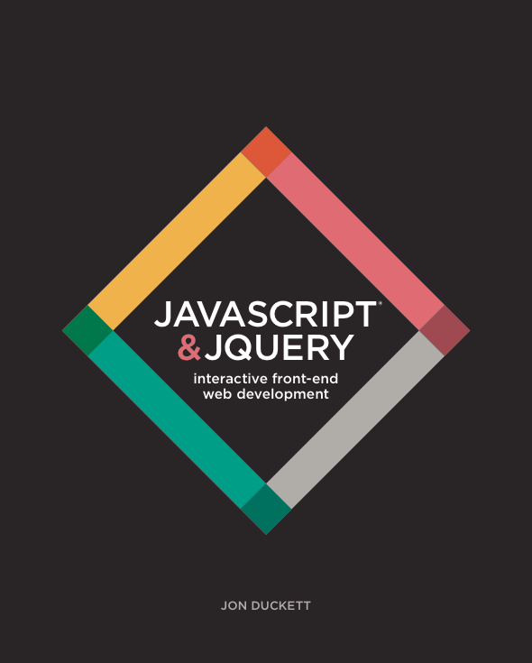 Cover of JavaScript and jQuery book